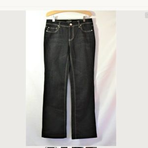 White House Black Market Blanc Boot Leg Jeans 8r